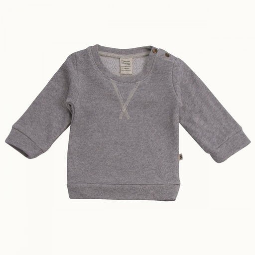 Nature Baby - Emerson Sweater - Grey Marl
