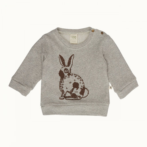 Nature Baby - Emerson Sweater - Rabbit Grey Marl