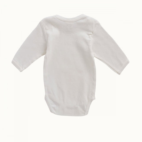 Nature Baby - Long Sleeve Bodysuit - Natural - Eco Child
