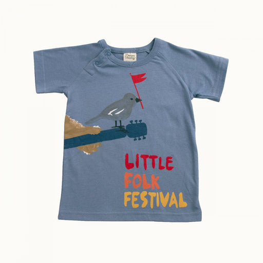 Nature Baby - Raglan Tee - Little Folk Print