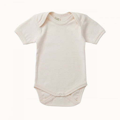 Nature Baby - Short Sleeve Bodysuit - Natural