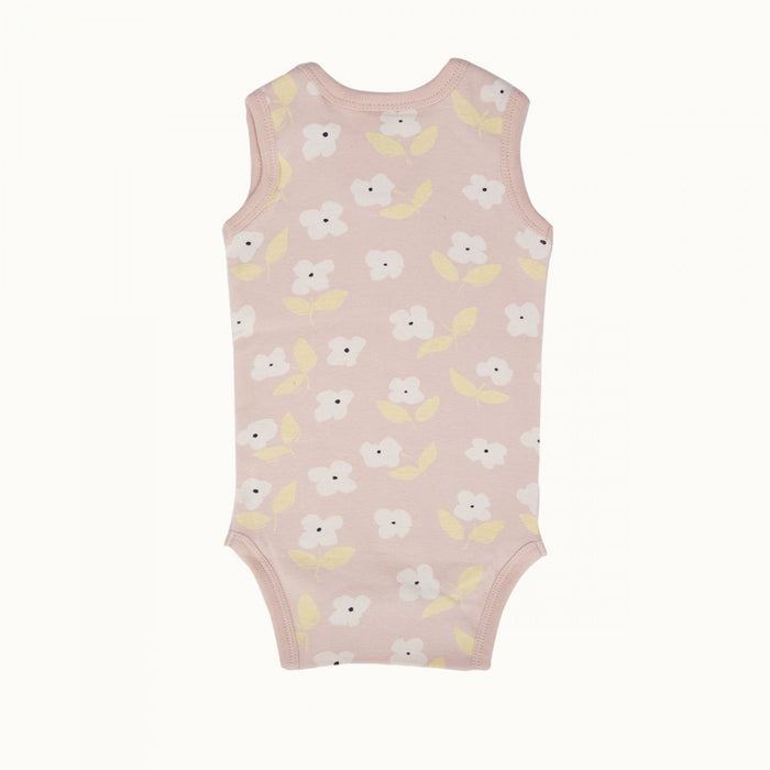 Nature Baby - Singlet Bodysuit - Meadow Print