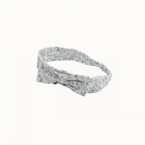 Nature Baby - Stretch Jersey bow Headband - Bramble/Floral