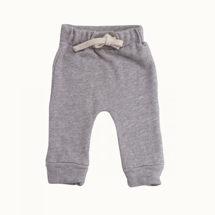 Nature Baby - Track Pants Sweatshirt Knit - Grey Marl
