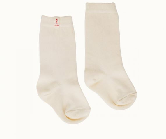 Nature Baby - Organic Cotton Socks - Natural - Eco Child