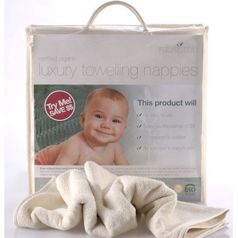 Natures Child - Luxury Organic Towelling Nappies - Eco Child