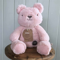 OB Designs - Huggies - Claire Bear - Pink - Eco Child