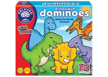 Orchard Toys - Travel Sized Mini Games - Dinosaur Dominoes