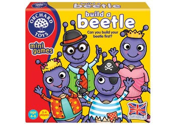 Orchard Toys - Travel Sized Mini Games - Build a Beetle