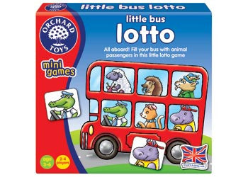 Orchard Toys - Travel Sized Mini Games - Little Bus Lotto
