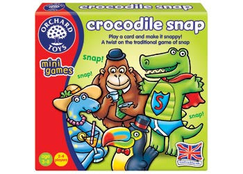 Orchard Toys - Travel Sized Mini Games - Crocodile Snap