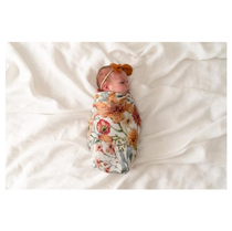 Pop Ya Tot - Le Piccadilly - 100% Organic Cotton Swaddle - Eco Child