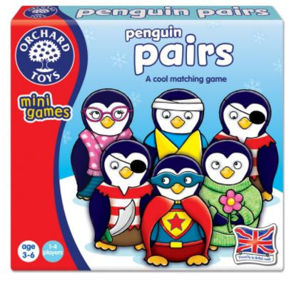 Orchard Toys - Travel Sized Mini Games - Penguin Pairs