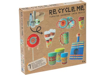 Re-Cycle-Me - Turning Garbage Into Science