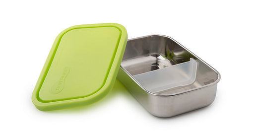 Rectangular container with Divider - Lime