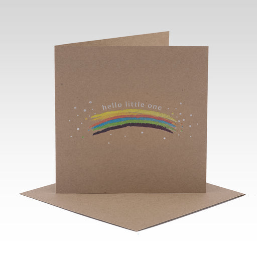 Rhi Creative - Hello Little One - Rainbow Card