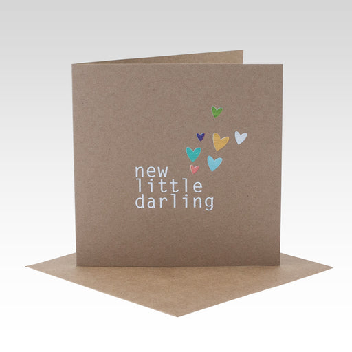 Rhi Creative - New Little Darling Card