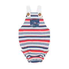 Tiny Twig - Romper - Mariner Stripes