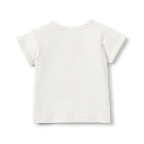 Wilson and Frenchy - Rolled Cuff Tee - Cheeky Monkey - Eco Child