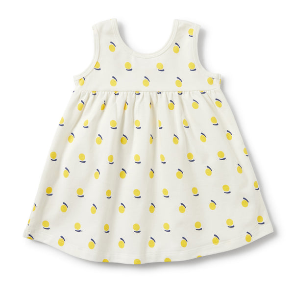Wilson and Frenchy - Ruffle Pocket Dress - Sunshine - Eco Child