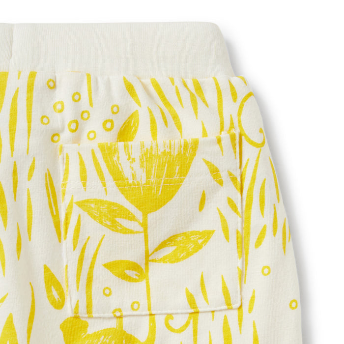 Wilson and Frenchy - Pocket Slouch Pant - Mellow Yellow