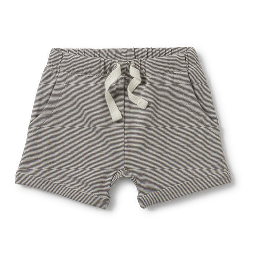 Wilson and Frenchy - Slouch Pocket Shorts - Charcoal Stripe