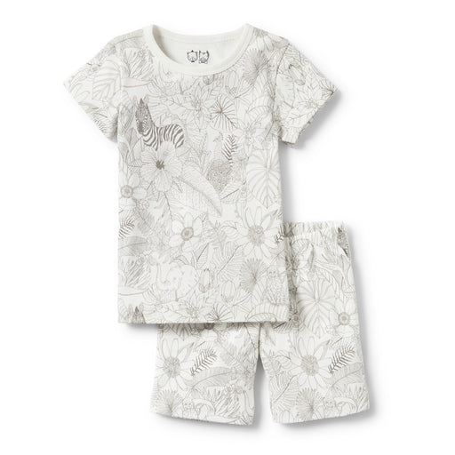 Wilson and Frenchy - Short Sleeve Pyjama Set - Peekaboo
