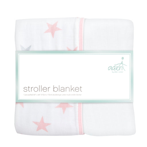 ADEN by Aden and Anais - Stroller Blanket - Doll