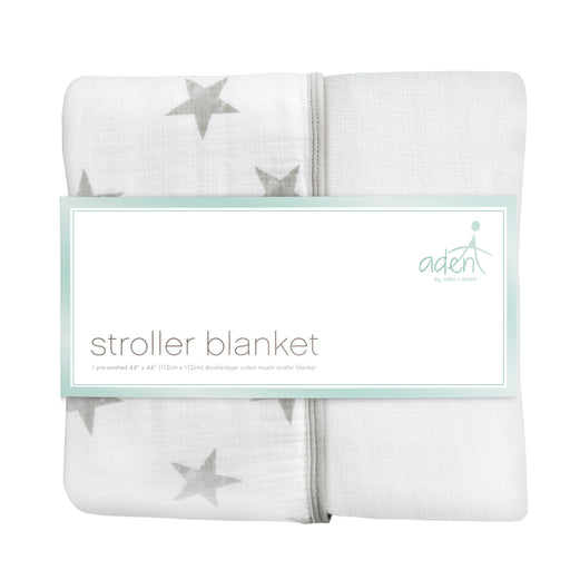 ADEN by Aden and Anais - Stroller Blanket - Dusty