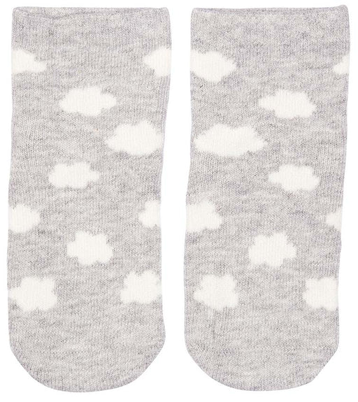 Toshi - Organic Baby Socks - Cloud