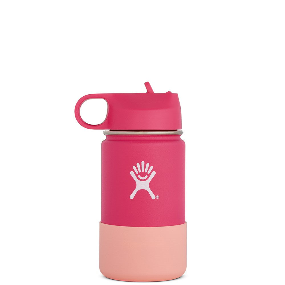 Hydro Flask - Wide Mouth Double Insulated Kids Bottle Watermelon Pink  354ml - Eco Child