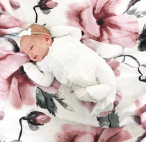 Pop Ya Tot - Sakura Blossom Swaddle - Eco Child