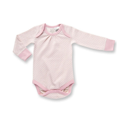 Sapling Child -  Long Sleeve Bodysuit - Dusty Pink