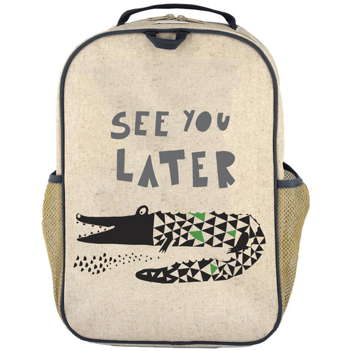 So Young - Grade School BackPack - See you later Alligator