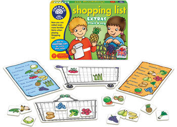Orchard Toys - Shopping List Game Booster - Fruit & Vegetable