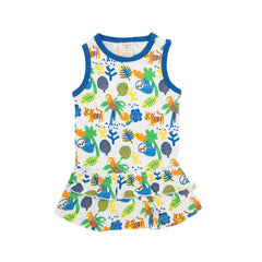 Tiny Twig - Singlet Dress - Rainforest