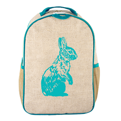 So Young - Toddler BackPack - Aqua Bunny