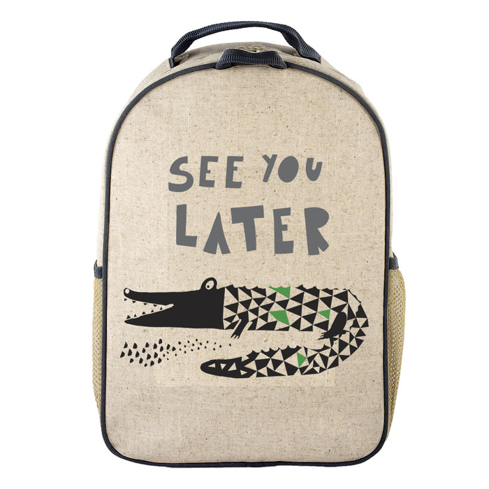 So Young - Toddler BackPack - See you later Alligator