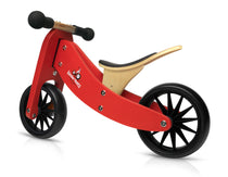 Kinderfeets - Tiny Tot 2 in 1 Tricycle/Balance Bike - Red, , Best Sellers, kinder feet, Kinderfeets, toys, Toys, wooden toys for babies, baby toys, newborn toys, baby wooden toys, wooden toys, sustainable, Eco friendly, environment friendly, Eco, Natural, eco products in Australia