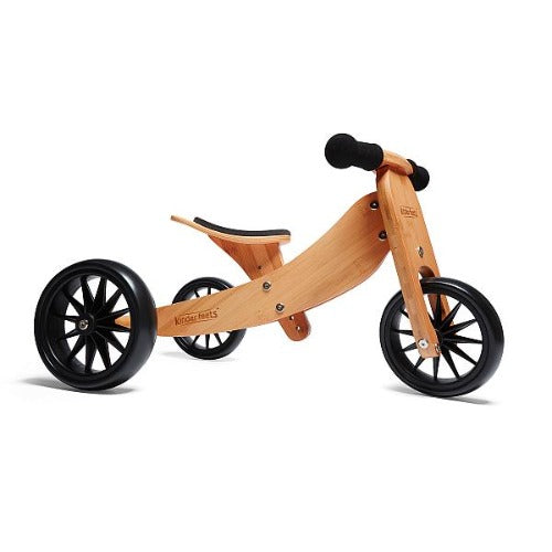 Kinderfeets - Tiny Tot 2 in 1 Tricycle/Balance Bike - Bamboo