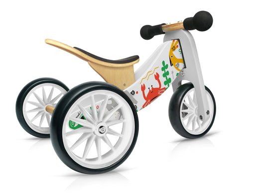 Kinderfeets -Tiny Tot 2 in 1 Tricycle/Balance Bike - Makii