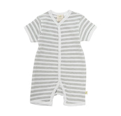 Tiny Twig - Snap Jumpsuit - Melange Stripes