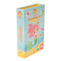 Tiger Tribe - Colouring Set - Mermaids - Eco Child