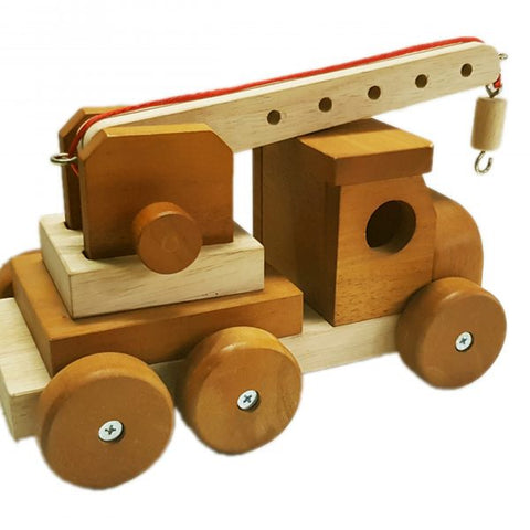Qtoys - Natural Wooden Crane - Eco Child