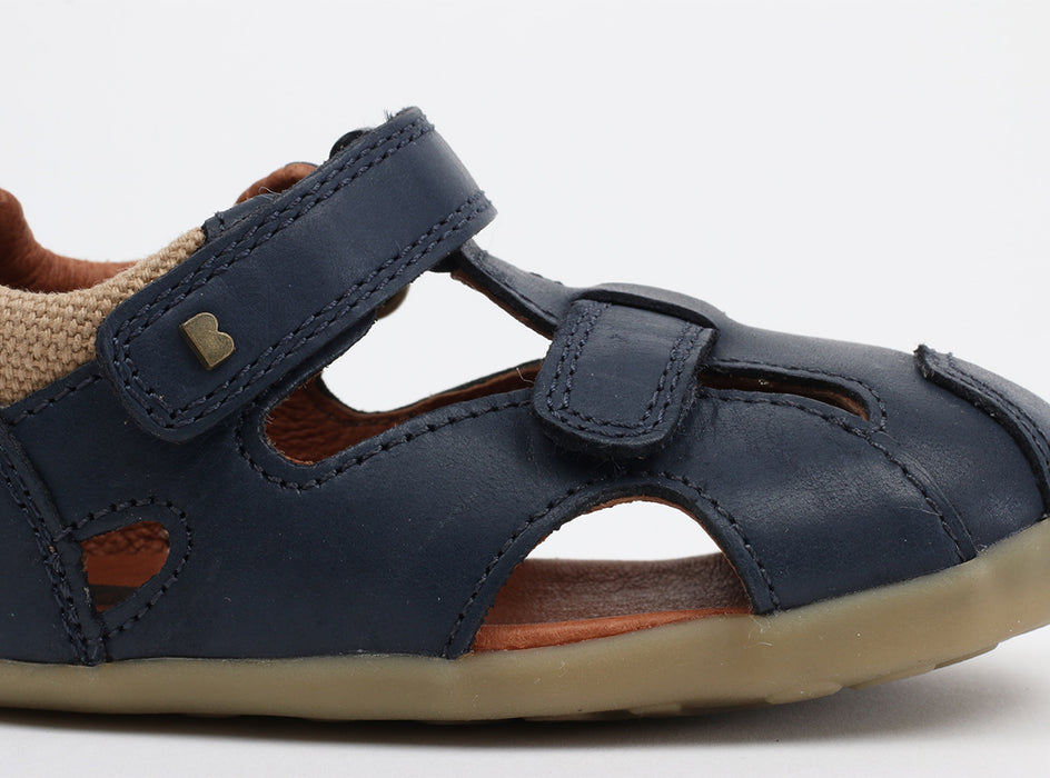 Bobux -Step Up - Chase Sandal - Navy