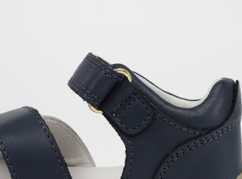 Bobux - Step Up - Sail Sandal - Navy/Misty Gold