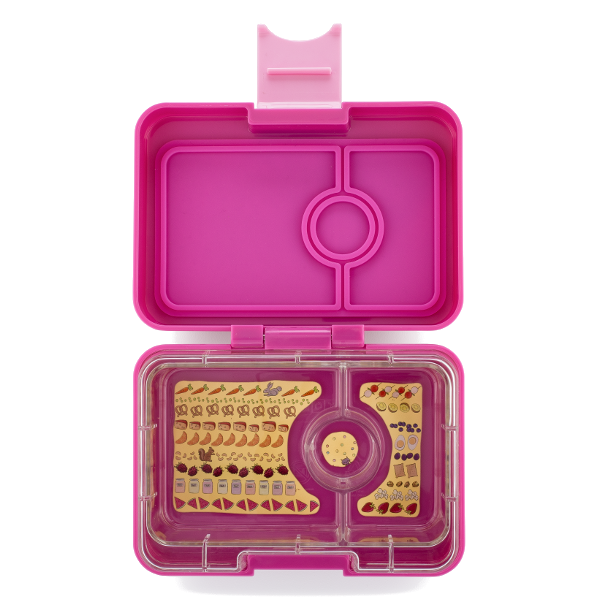 Yumbox - Mini Snack - 3 Compartment - Malibu Purple