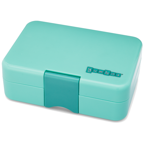 Yumbox - Mini Snack - 3 Compartment - Surf Green
