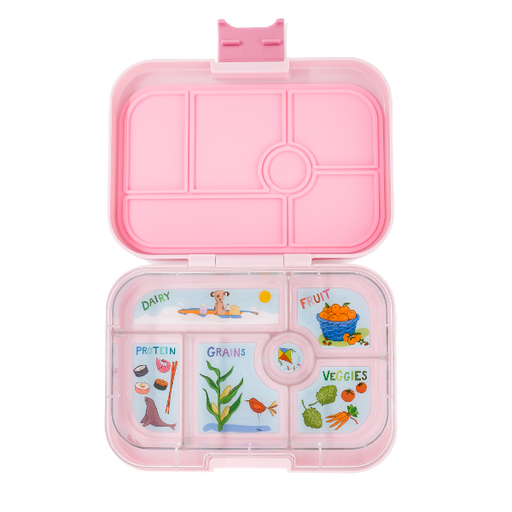 Yumbox - Original - 6 Compartment - Hollywood Pink