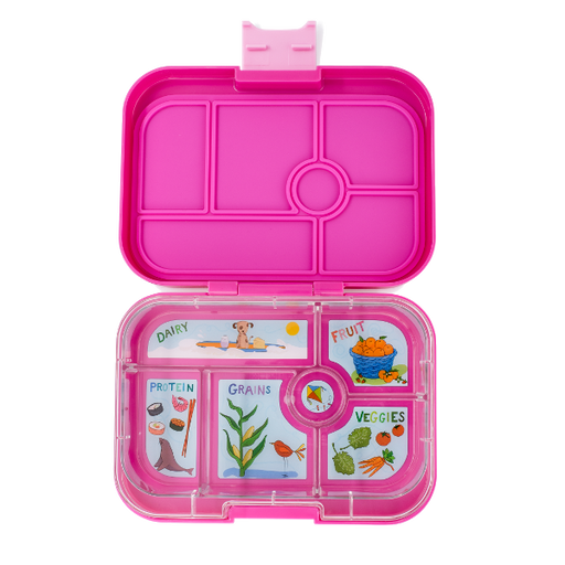 Yumbox - Original - 6 Compartment - Malibu Purple